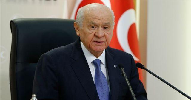 MHP Lideri Devlet Bahçeli'den Kanal İstanbul açıklaması