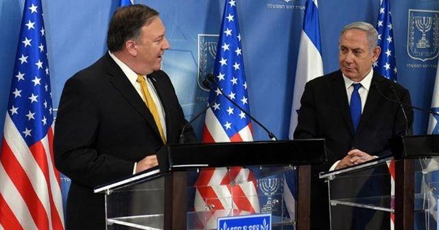 Pompeo ve Netanyahu'dan 'İran' görüşmesi