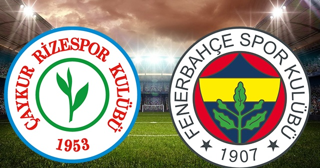 Rizespor Fenerbahçe maçı CANLI | Fenerbahçe Rizespor maçı CANLI İZLE Rizespor Fenerbahçe beinsports canlı izle