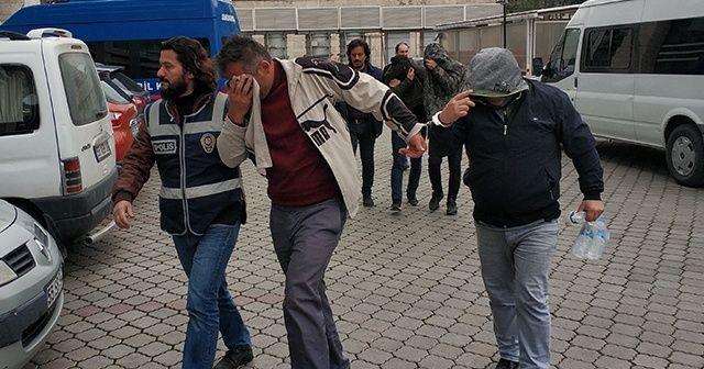 Samsun'da hırsızlık çetesinden 4 kişi tutuklandı