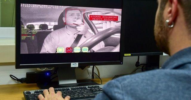 Sigara içen sürücü yapay zekâyla tespit edilecek