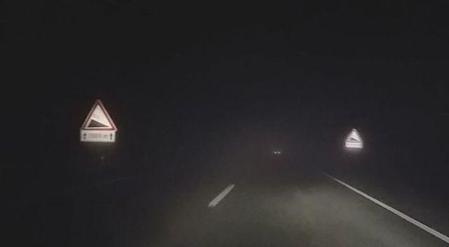 Tekirdağ - Çanakkale yolunda yoğun sis