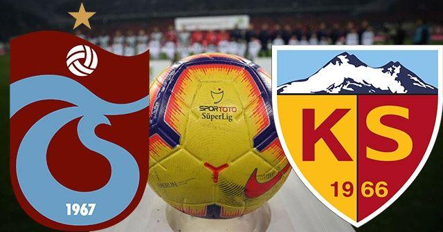 Trabzonspor Kayserispor Canlı İzle!