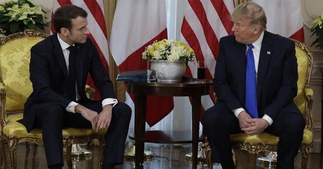 Trump ve Macron'dan önemli açıklamalar