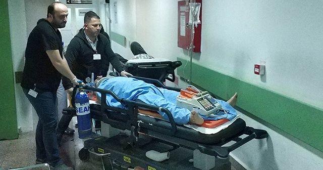 Üçüncü kattan düşen öğretmen ağır yaralandı