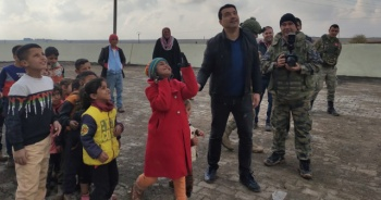 'Barış Pınarı Harekatı' ile çocukların yüzü güldü