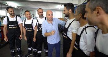 'Selim Bey' ağır vasıta şoförlerinin kabinlerini yeniden tasarlıyor