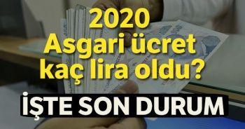 2020 Asgari Ücret Kaç Lira oldu? Agi 2020 Tablosu! Asgari Ücretle ilgili Son Dakika gelişmeleri