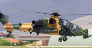 54'üncü ATAK helikopteri TSK'ya teslim edildi