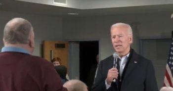 ABD'de Joe Biden'ın seçim kampanyasında bir seçmenle tartışması gündem oldu