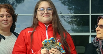 """Avrupa Şampiyonu Aleyna Kaymaz: """"Hedefim olimpiyat birinciliği"""""""