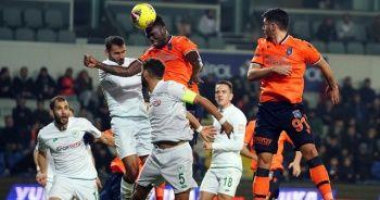 Başakşehir - Konyaspor maçında kazanan çıkmadı