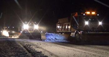 Bingöl'de kar yağışı etkili oluyor