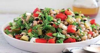 Börülce salatası nasıl yapılır, Börülce salatası yapımı ve Börülce salatası tarifi