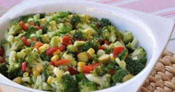 Brokoli salatası tarifi ve brokoli salatası nasıl yapılır