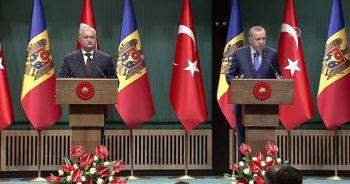 Cumhurbaşkanı Erdoğan'dan Moldova'ya 'FETÖ' çağrısı
