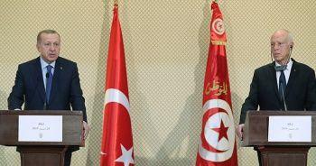 Cumhurbaşkanı Erdoğan'dan Tunus'ta önemli açıklamalar