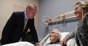 Cumhurbaşkanı Erdoğan hasta ziyaretlerinde bulundu