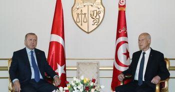 Cumhurbaşkanı Erdoğan, Tunus'ta