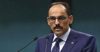 Cumhurbaşkanlığı Sözcüsü İbrahim Kalın, ABD Ulusal Güvenlik Danışmanı O'Brien ile telefonda görüştü
