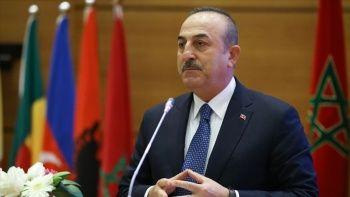 Dışişleri Bakanı Çavuşoğlu,  Yunanistan Dışişleri Bakanı  Nikolaos Dendias ile görüştü