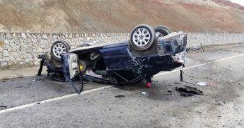 Kahramanmaraş'ta feci kaza: 1 ölü, 1 yaralı