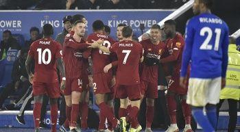 Liverpool, Leicester City deplasmanında galibiyeti 4 golle aldı