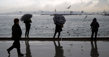 Meteoroloji'den İstanbul için yağış ve soğuk hava uyarısı
