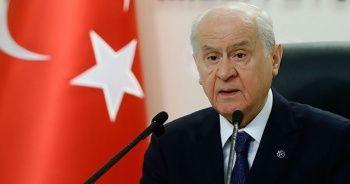 MHP Genel Başkanı Bahçeli'den 'Libya' açıklaması