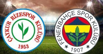 Rizespor Fenerbahçe maçı CANLI   Fenerbahçe Rizespor maçı CANLI İZLE Rizespor Fenerbahçe beinsports canlı izle