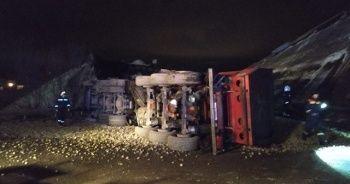 Rusya'da otoyol köprüsü çöktü