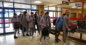 Trabzonspor, Basel maçı için İsviçre'ye gitti