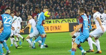 Trabzonspor, Yukatel Denizlispor'a 2-1 yenildi