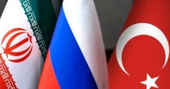 Türkiye, Rusya ve İran, Kazakistan'da bir araya geliyor