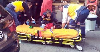 Yaralı halde saldırganın peşinden gitmeye çalıştı