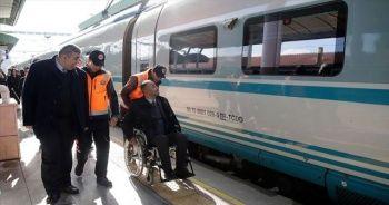 YHT yaklaşık 1,5 milyon engelli yolcu taşıdı
