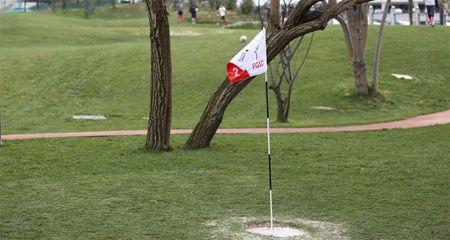 Antalya'da futgolf heyecanı
