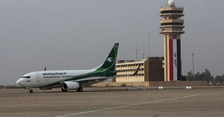 Bağdat Havalimanı yakınlarına roket düştü