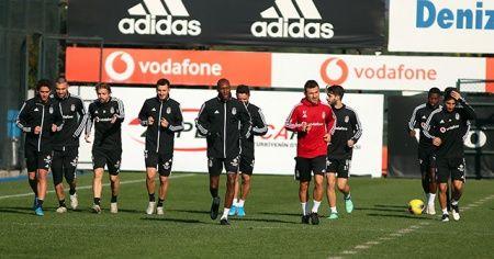 Beşiktaş, Kasımpaşa maçı hazırlıklarına başladı