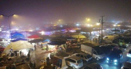 Bursa İnegöl'de sis