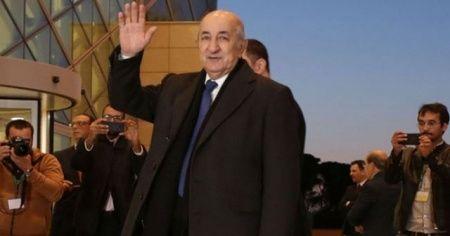 Cezayir'de eski Başbakan Abdulmecid Tebbun yeni Cumhurbaşkanı oldu