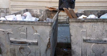 Çöp konteynerinde yüzlerce kutu ilaç bulundu