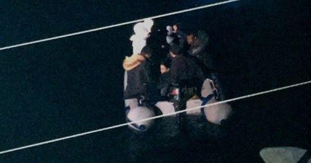 Didim'de 8 düzensiz göçmen yakalandı