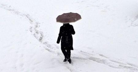 Doğu'da 6 ilde karla karışık yağmur ve kar bekleniyor