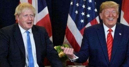 Donald Trump'tan Johnson'a kutlama