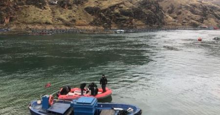 Fırat Nehri'nde kaybolan sürücü bir haftadır aranıyor