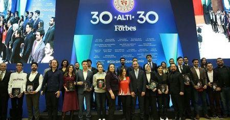 İhlas Koleji mezunu Rümeysa Kadak ve Mete Gazoz Forbes listesinde