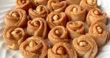 Gül tatlısı tarifi nasıl yapılır, En kolay Gül tatlısı yapımı ve malzemeleri