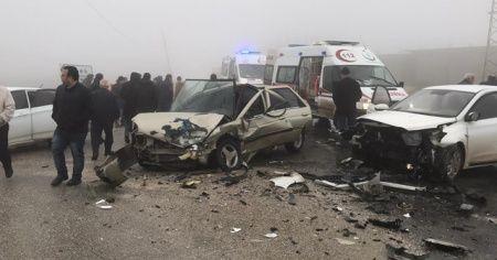 Hatay'da sis kazası: 4 yaralı