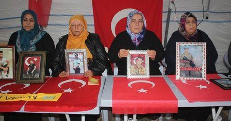HDP önündeki ailelerin evlat nöbeti 104'üncü gününde